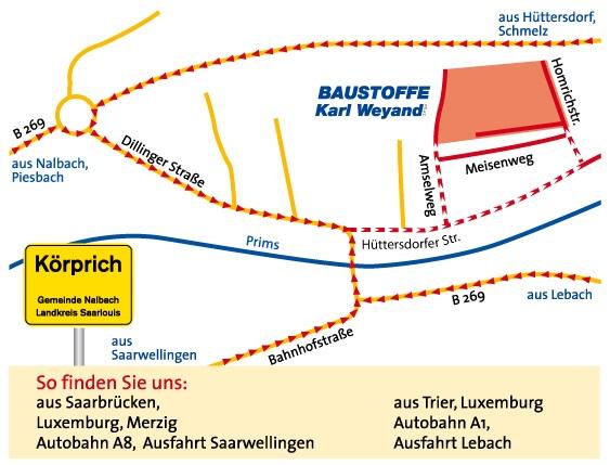 Baustoffe Luxemburg baustoffe weyand inspiration in stein anfahrt